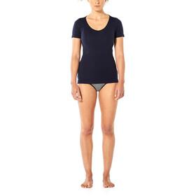 Icebreaker Siren Sweetheart T-shirt Dames, blauw
